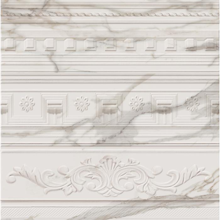 Текстура плитки Шарм Эво Калакатта Вставка Арти 25x75