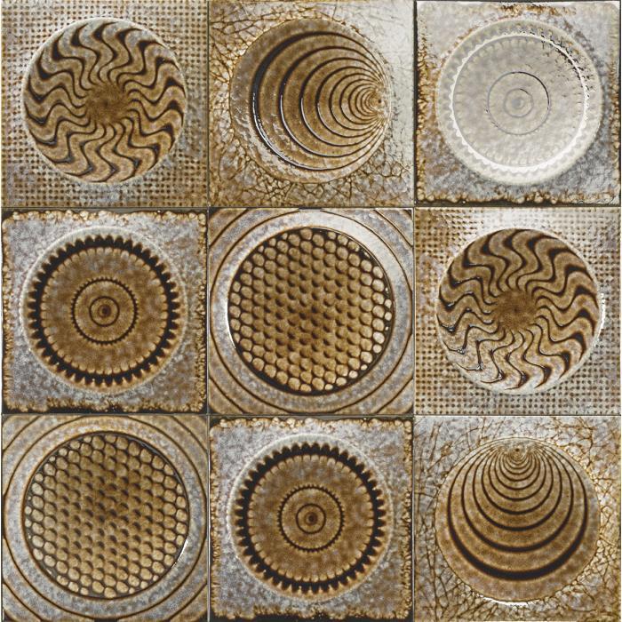 Текстура плитки Shape Miele 20x20