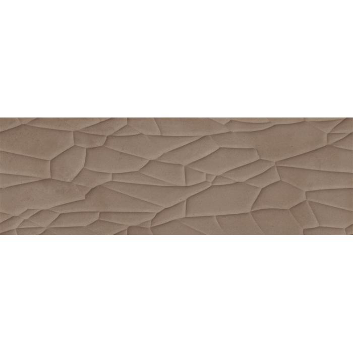 Текстура плитки Relieve Reaction Bronze 29.5x90
