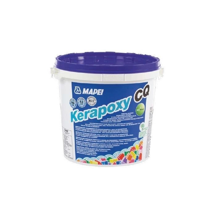 Строительная химия Kerapoxy CQ 182 3 kg цвет турмалин  легкоочищаемый  эпоксидный шовный заполнитель - 2