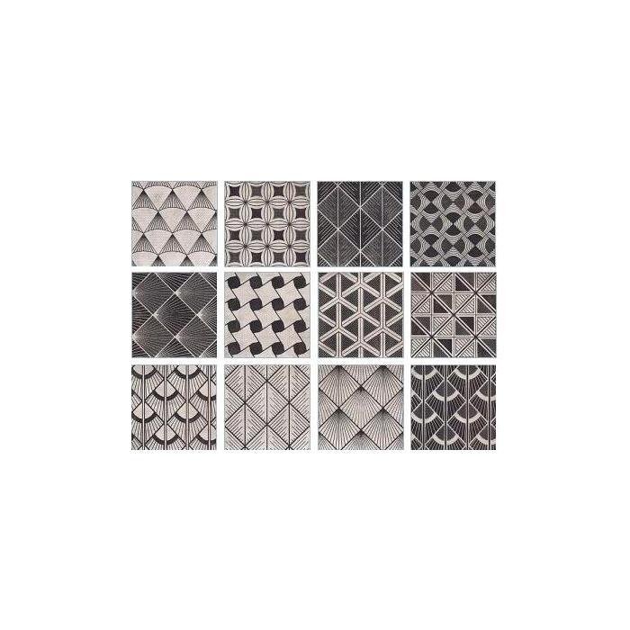 Текстура плитки Decor Keo 20x20