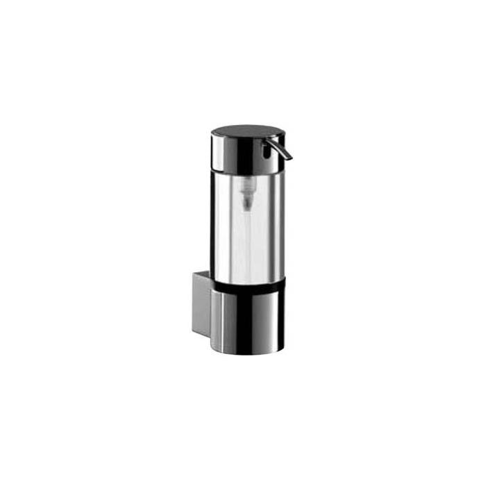 Фото сантехники System 2 Дозатор для жидкого мыла 148х52х82 мм, стекло, в комплекте с настенным держателем, хром