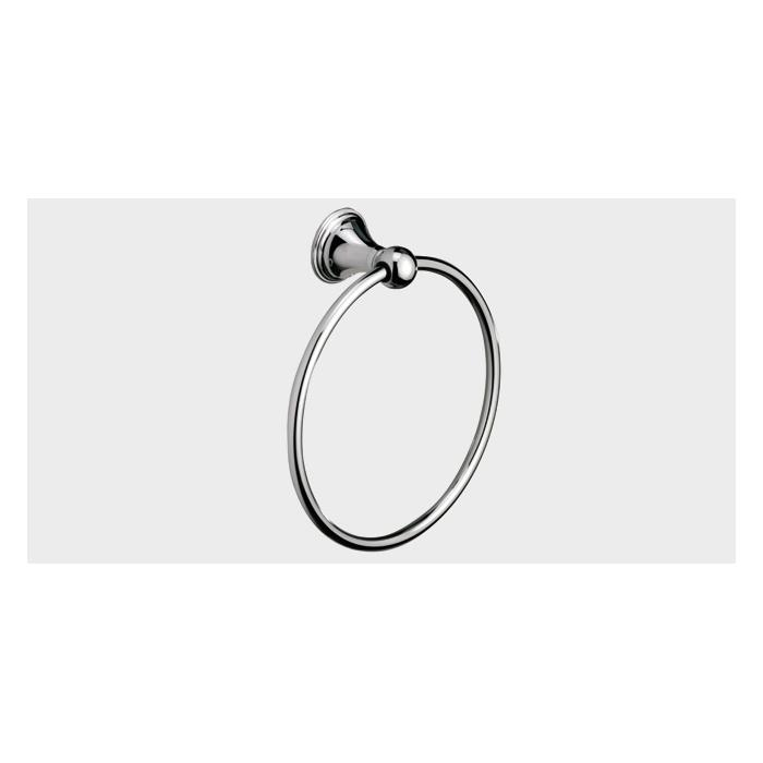 Фото сантехники Genoa Полотенцедержатель кольцо, цвет хром