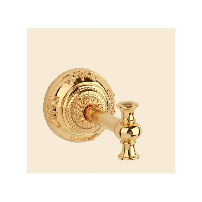 Фото сантехники CRISTALIA Держатель цепочки высокого бачка Р125мм, золото ( без цепочки и ручки).