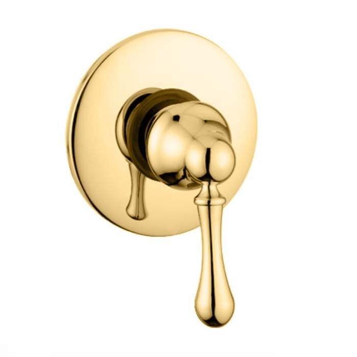 Фото сантехники Maya смеситель для душа монокомандный, встроен., золото