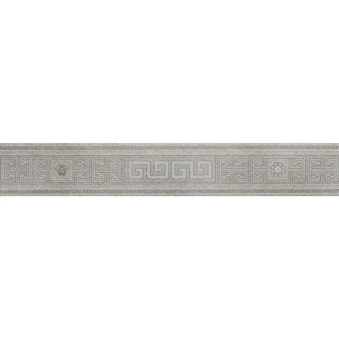 Текстура плитки Greek Fascia Grigio Rett 12,5x80