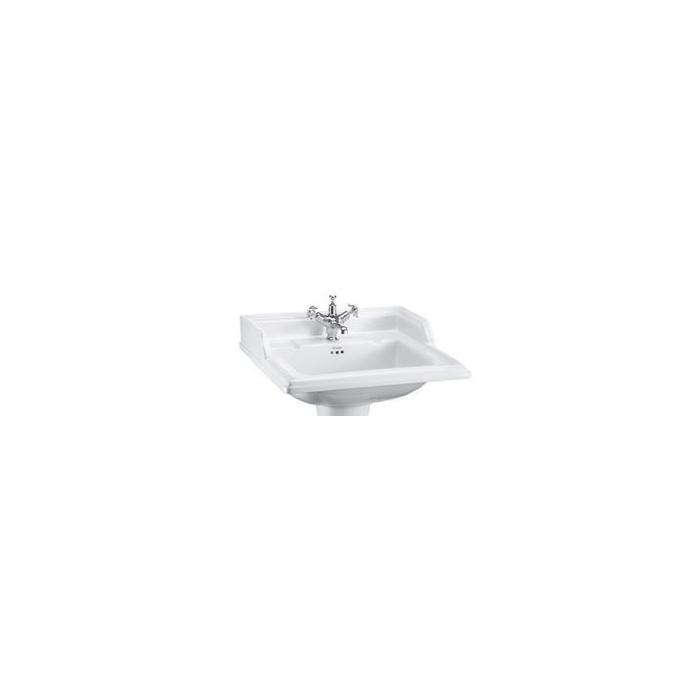 Фото сантехники Classic Раковина на 1 отверстие 65х57см, цвет белый - 2