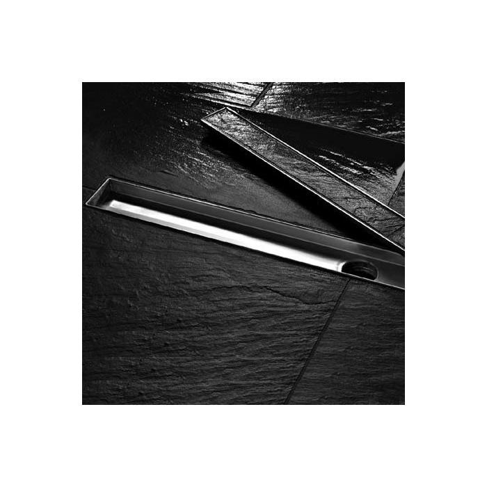 Фото сантехники Plate Лоток для плитки 1500 мм, нержавеющая сталь, полированный