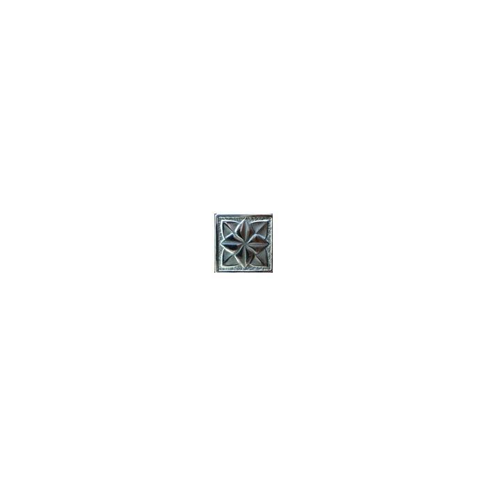 Текстура плитки Лилия Серебро 5x5 - 2