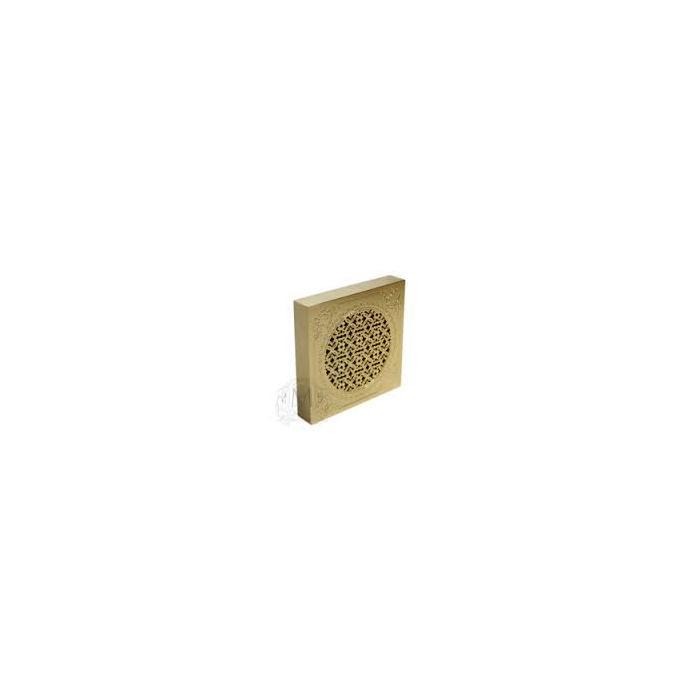 Фото сантехники Вентилятор д/ванной комнаты D120mm с дек.решеткой 180х180mm, бронза