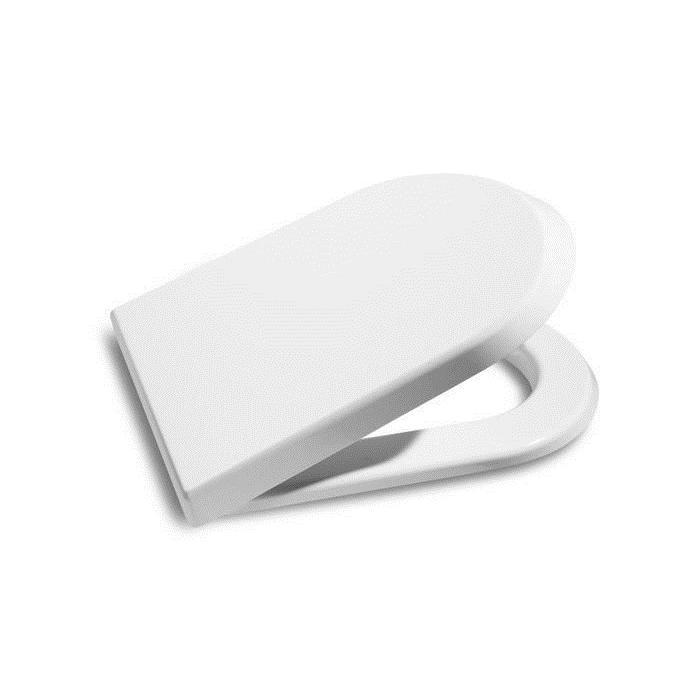 Фото сантехники Pro Сиденье с крышкой, с микролифтом, цвет белый,