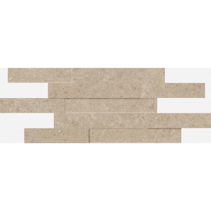 Текстура плитки Дженезис Крим Брик 3Д Нат. 28x78 (0,164м2)