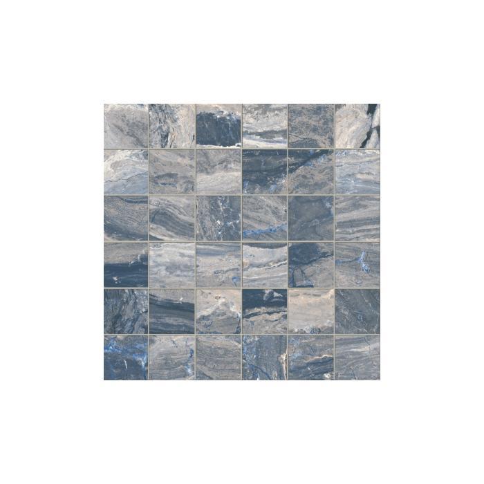 Текстура плитки Castle Mosaico Prague Lap Ret (5x5) 30x30