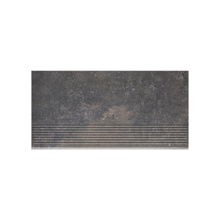 Текстура плитки Viano Antracite Stopnica 30x60