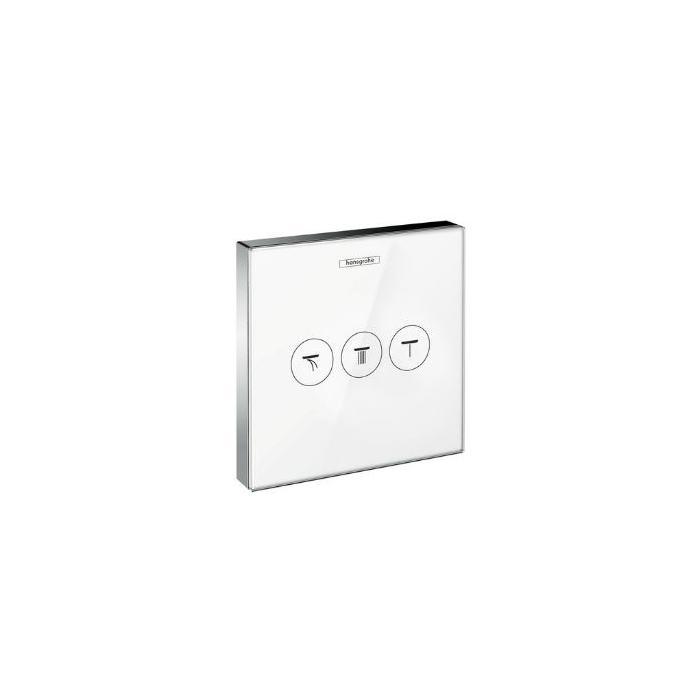 Фото сантехники Shower Select  Запорно-переключающее устройство для 3 потребителей, цвет белый - 3