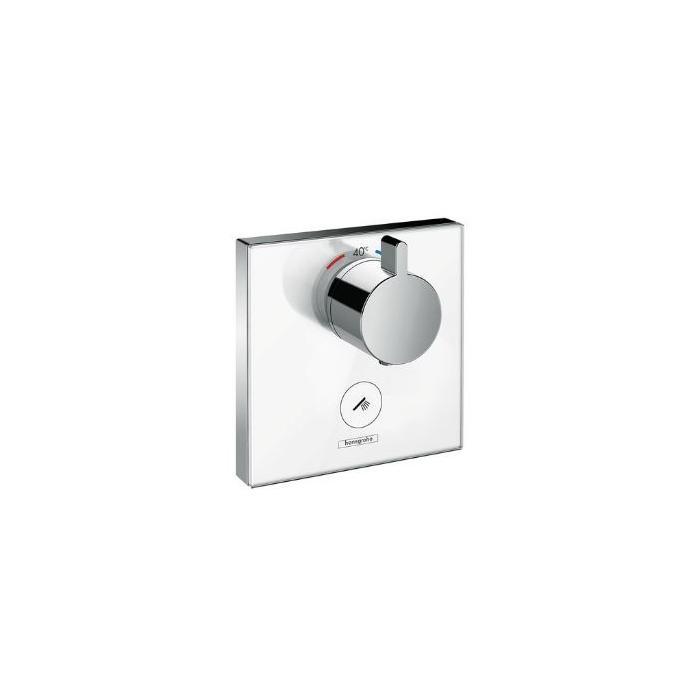 Фото сантехники Shower Select HighfowТермостат с клапаном для ручного душа, цвет белый - 2