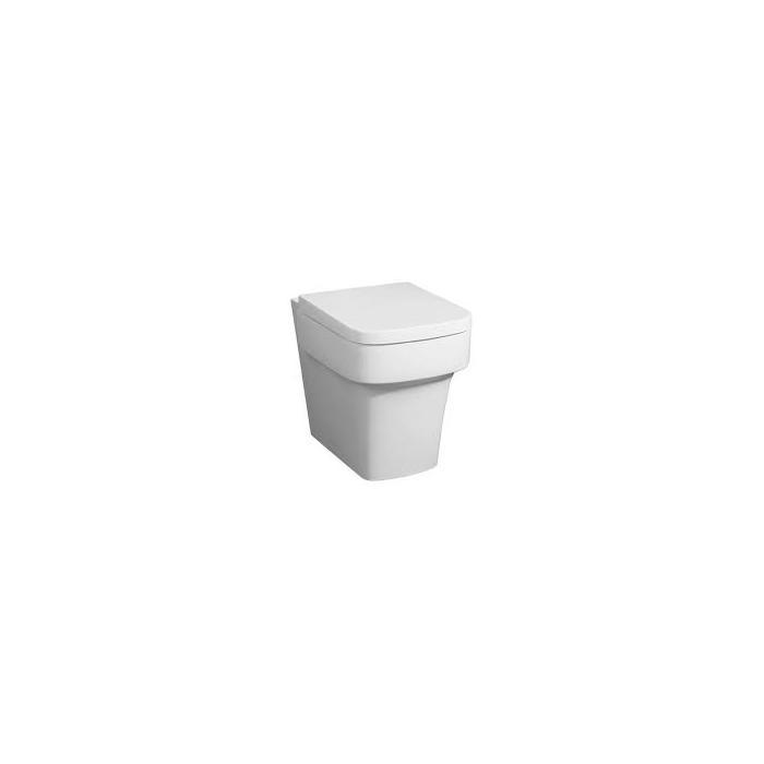 Фото сантехники Janice Чаша унитаза для унитаза-компакт, цвет белый