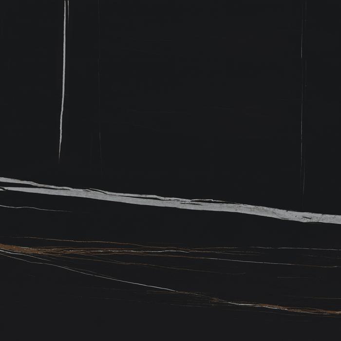 Текстура плитки Шарм Делюкс Сахара Нуар 80x80 Рет - 2