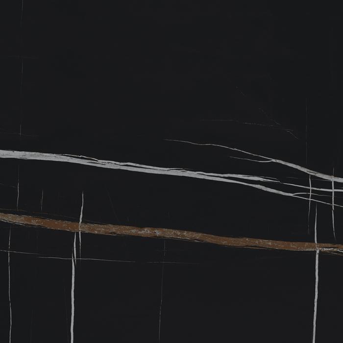 Текстура плитки Шарм Делюкс Сахара Нуар 80x80 Рет