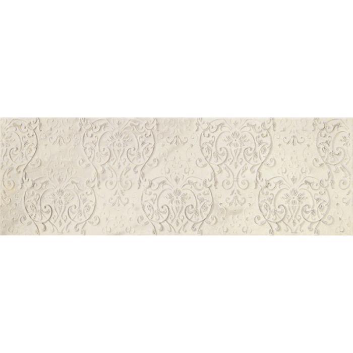 Текстура плитки Beige Experience Royal Crema Lumiere Decoro 32x96.2