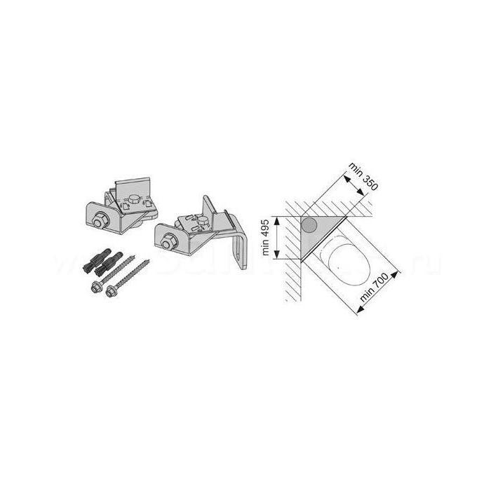 Фото сантехники Комплект для крепления модуля в углу
