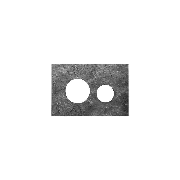 Фото сантехники Teceloop Лицевая панель смыва, цвет полированный сланец