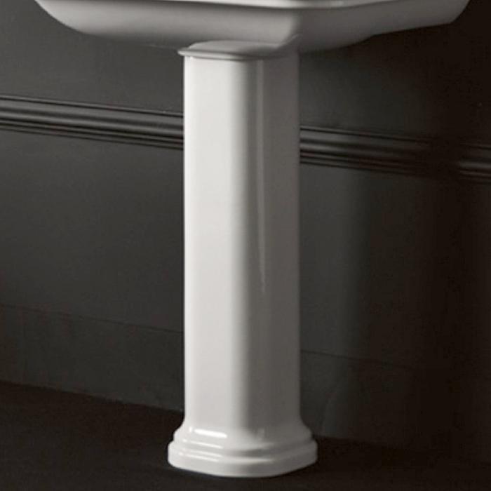 Фото сантехники Waldorf Пьедестал для раковин 60 и 80см, цвет белый