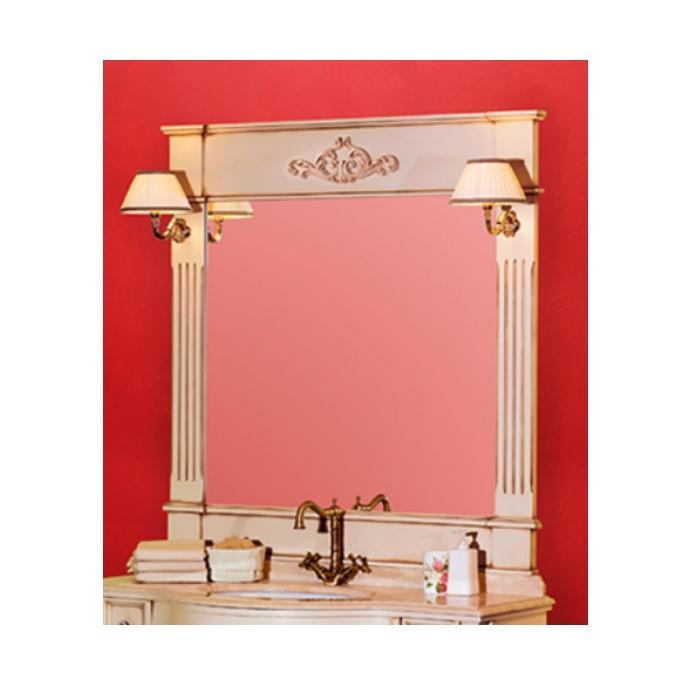 Фото сантехники Kantri Зеркало 120х120х6, цвет Decape Sabbia