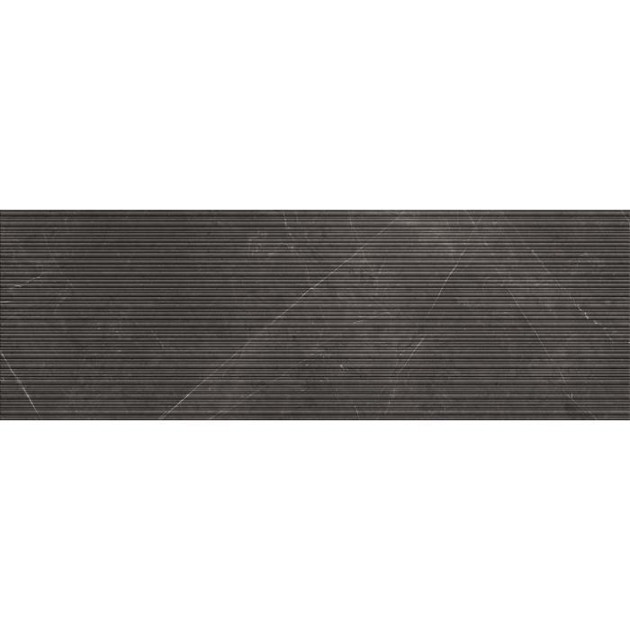 Текстура плитки Ribbed Pietra Grey 32x96.2