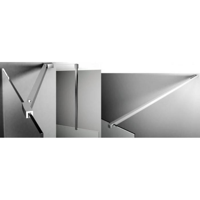 Фото сантехники Contra Горизонтальная штанга (угол 45 гр.), цвет хром - 2