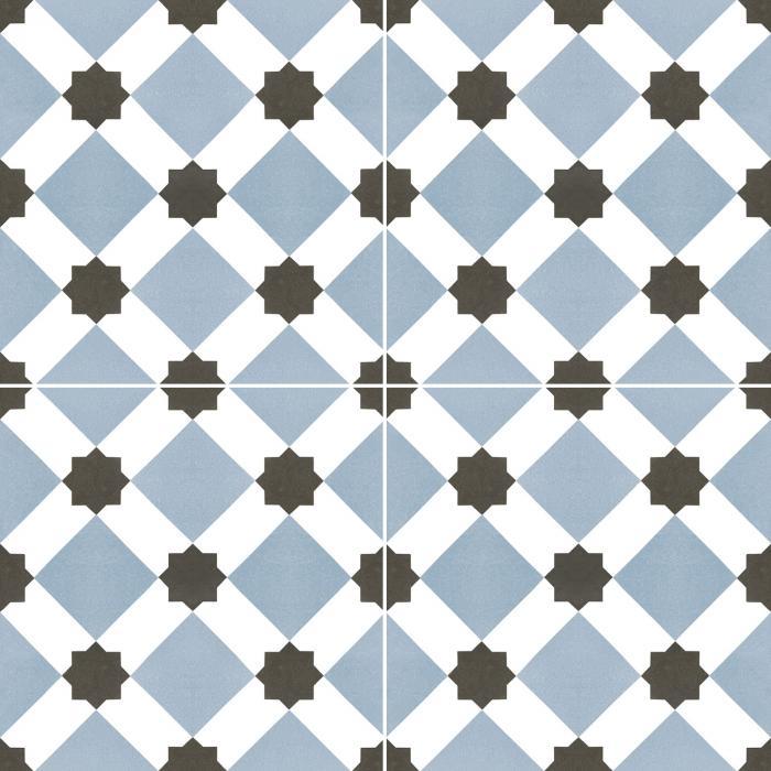Текстура плитки Howard Blue 45x45 - 2