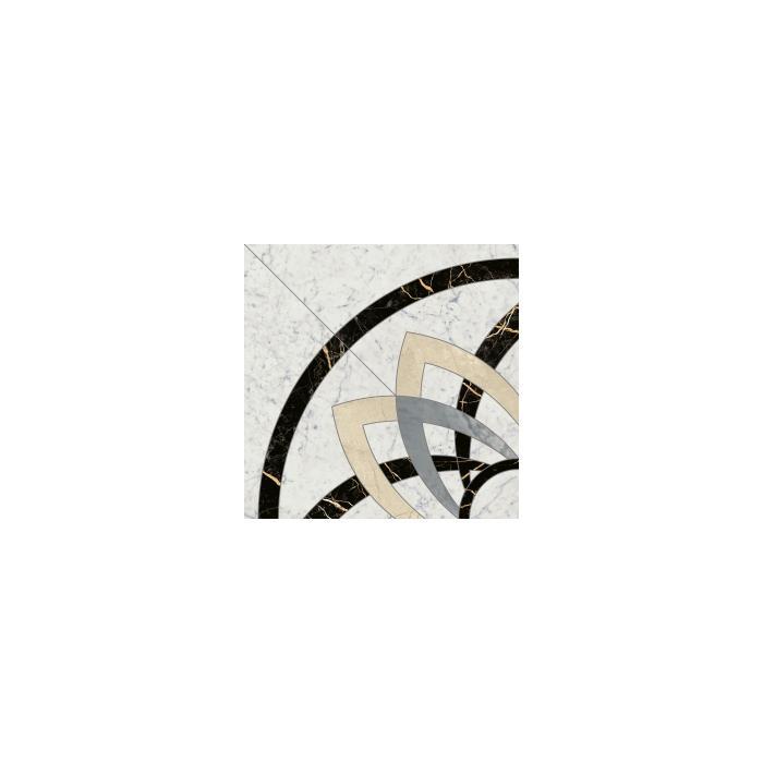 Текстура плитки Шарм Экстра Каррара Розон Анголо Люкс. Ретт 59х59