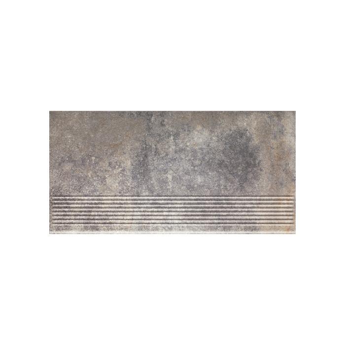 Текстура плитки Viano Grys Stopnica 30x60