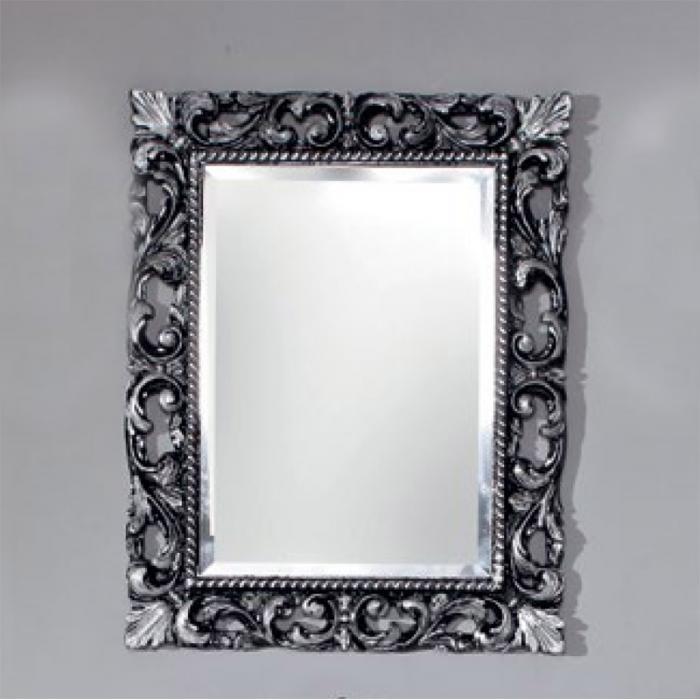 Фото сантехники Viena Зеркало 750х950x30, цвет Nero/Argento