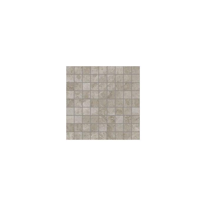 Текстура плитки Сиена Серый Вставка Мозаика 30x30