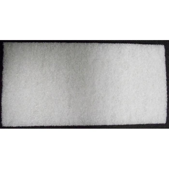 Строительная химия Губка для очистки плитки белая мягкая