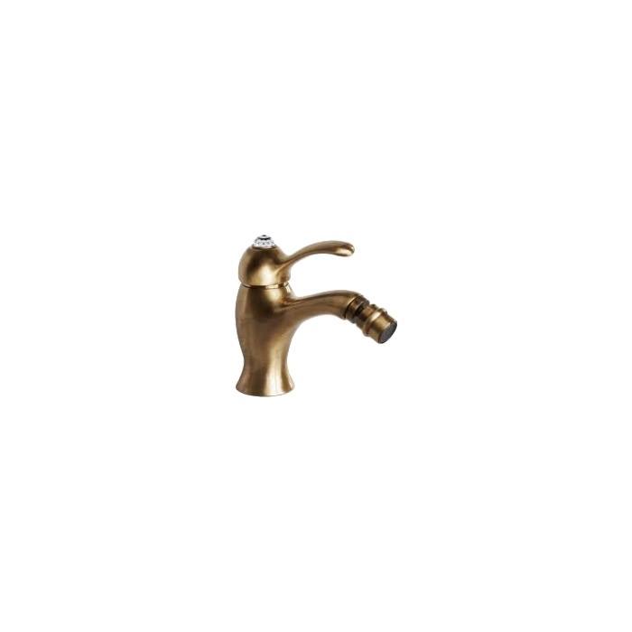 Фото сантехники Lem Swarovski Смеситель для биде монокомандный, цвет бронза