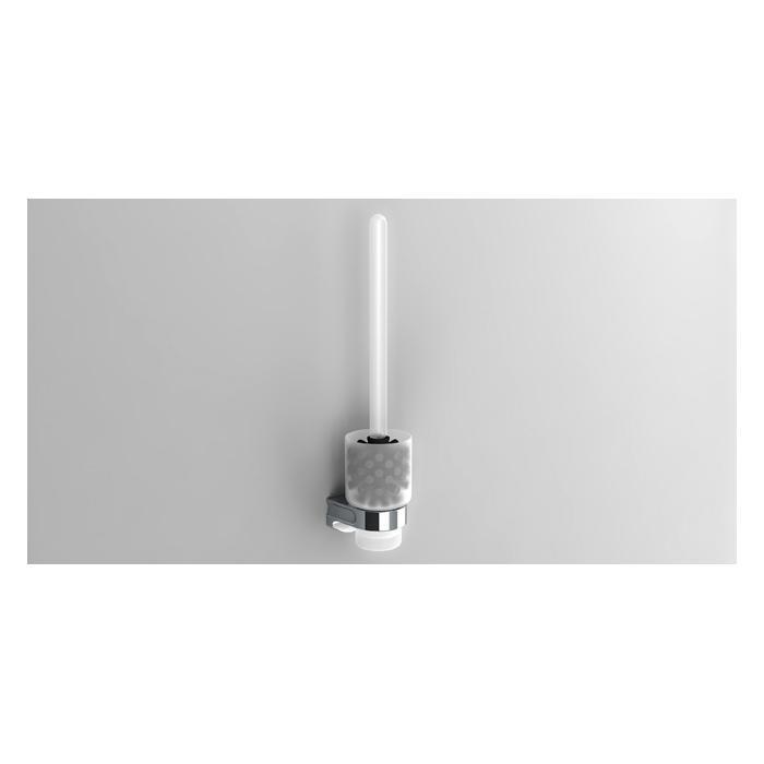 Фото сантехники S1 Ерш туалетный, настенный, цвет хром