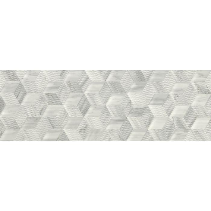 Текстура плитки White Experience Cubo Veluto 32x96.2