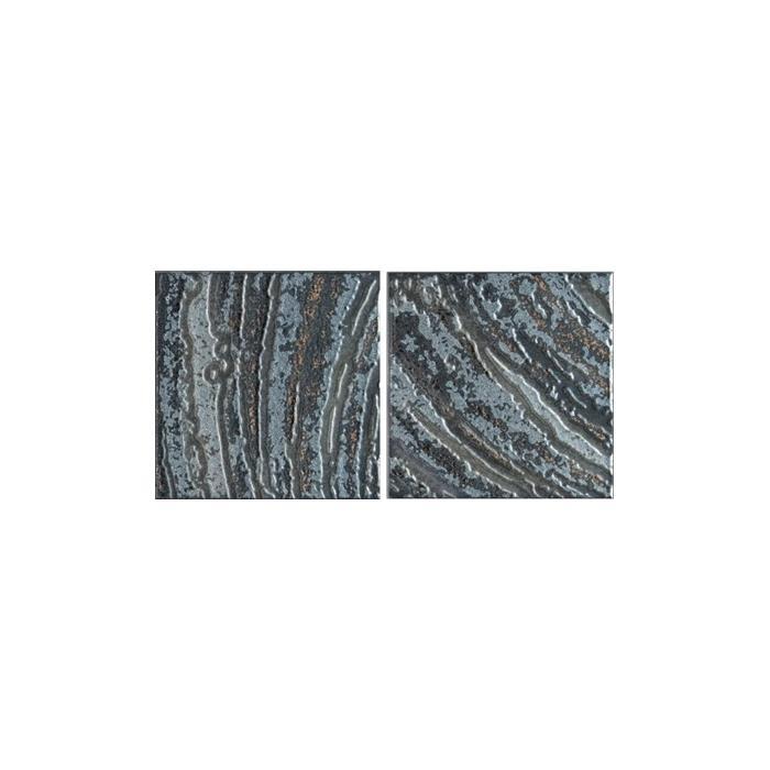 Текстура плитки Conjunto Padua Negro (2pz 25x25) 25x50