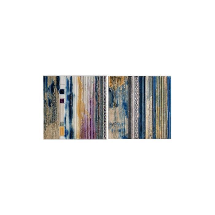 Текстура плитки Conjunto Trento Azul (2pz 25x25) 25x50