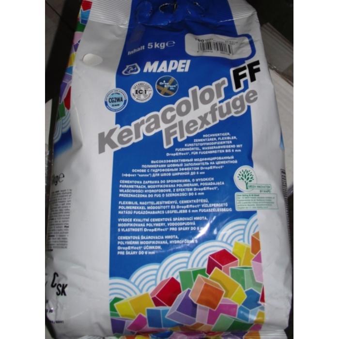 Строительная химия Keracolor FF 100  5 kg  Белая затирка - 2