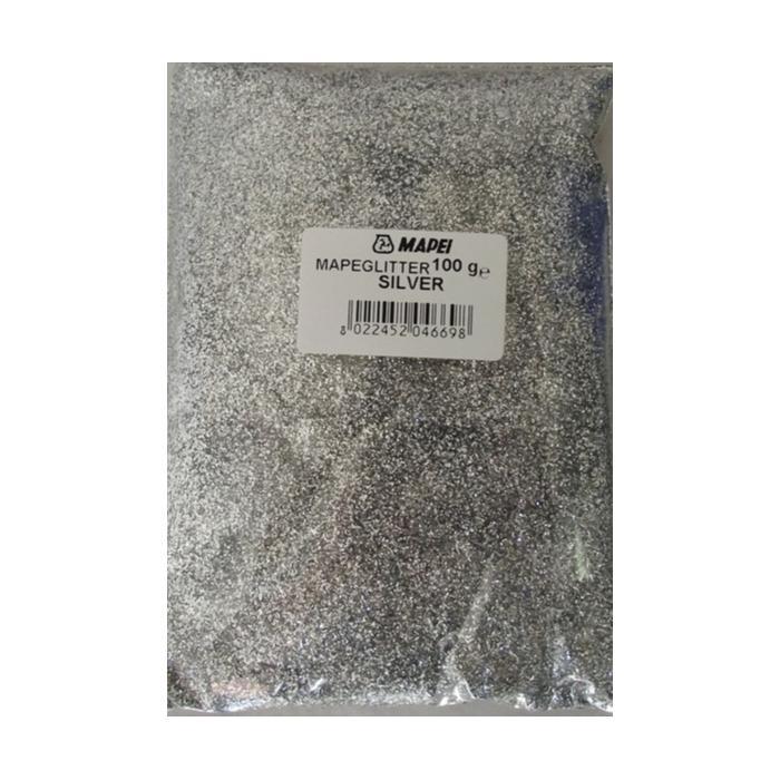 Строительная химия Mapeglitter №201 Silver  0,1 kg добавка блеск для затирочных составов