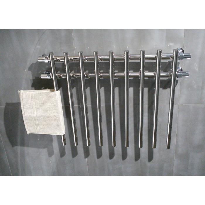 Фото сантехники Полотенцесушитель 80х60 ЛБ4, левый, хром