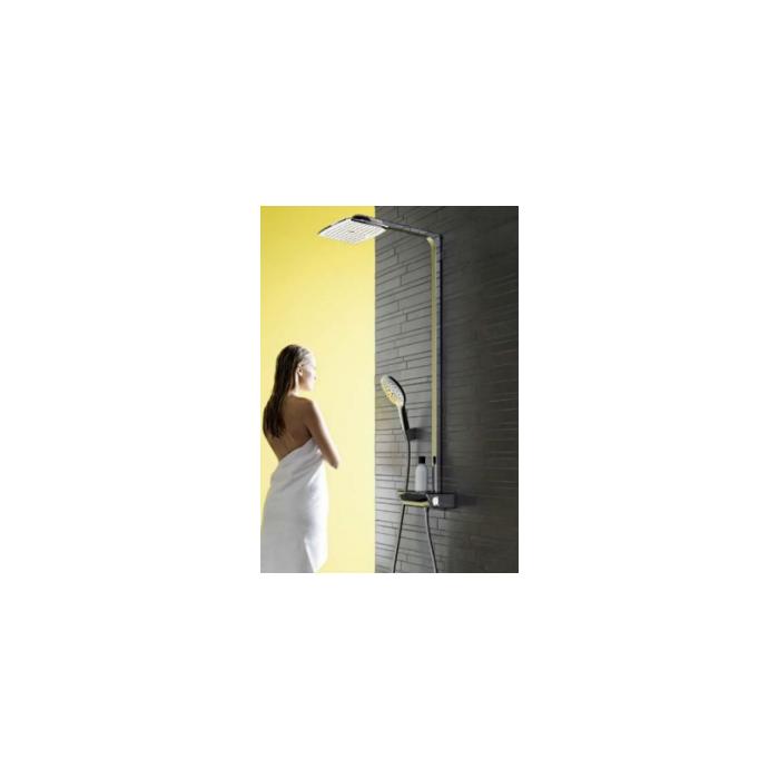 Фото сантехники Raindance Select Душевой комплект Showerpipe 360 с термостатом, цвет белый/хром