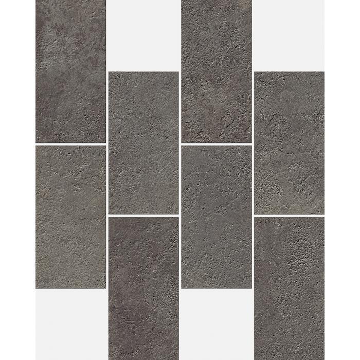Текстура плитки Миллениум Блэк Минибрик 23.7x29.5