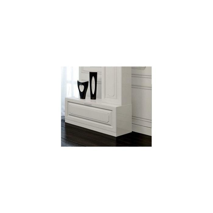 Фото сантехники Империя Тумба напольная Н10/W, цвет белый