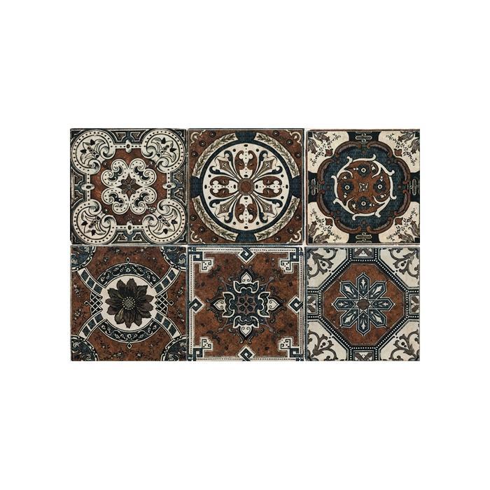 Текстура плитки Decor Socarrat 20x20