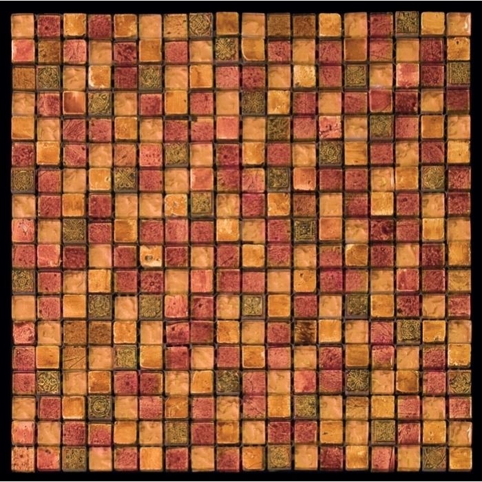Изображение Inka Мозаика Стекло - мрамор BDA-1506 1,5х1,5