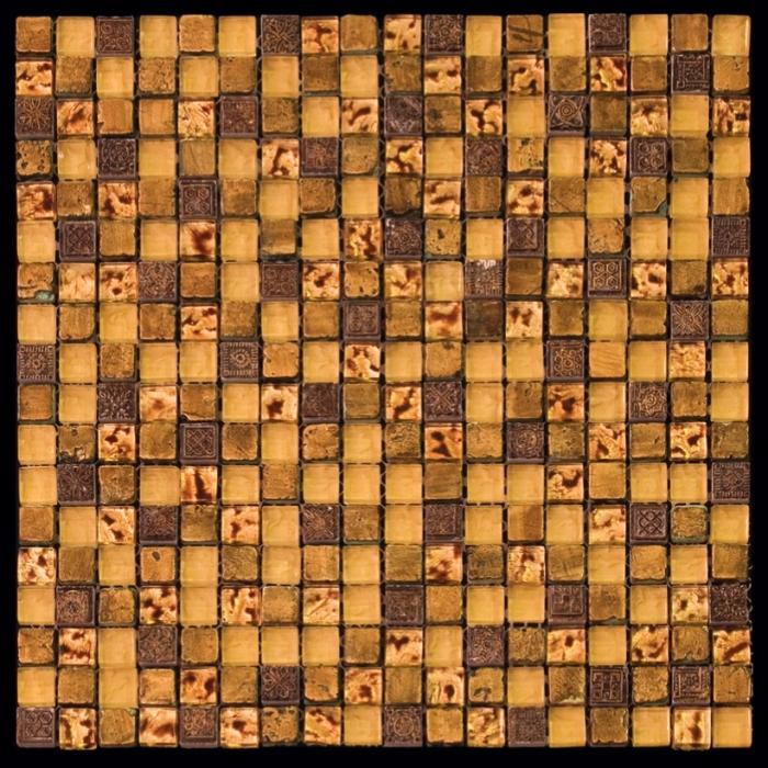 Изображение Inka Мозаика Стекло - мрамор BDA-1508 1,5х1,5